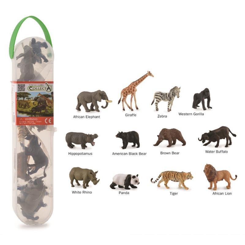 CollectA A1105 Mini Wilde Dieren Set (12 stuks)