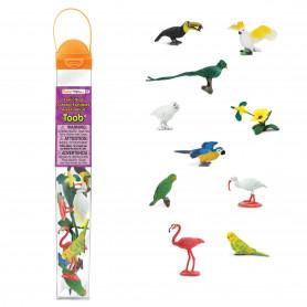 Safari 680404 Mini Exotische Vogel Set (11 stuks)