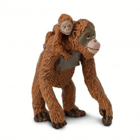Safari 293529 Orang Utanweibchen mit Baby