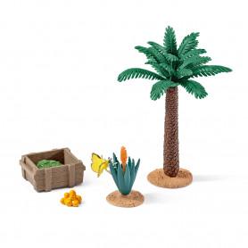 Schleich 42277 Pflanzen und Futter Set