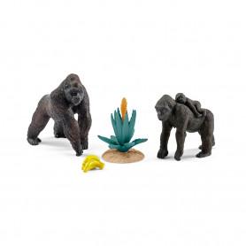 Schleich 42276 Gorilla family