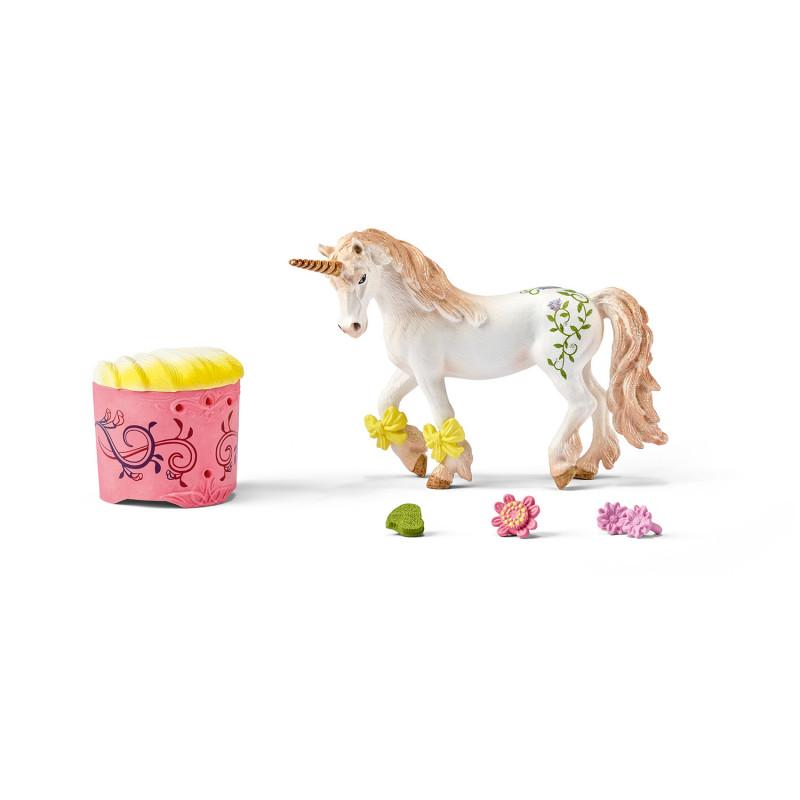Schleich 42180 Unicorn and Pegasus care set