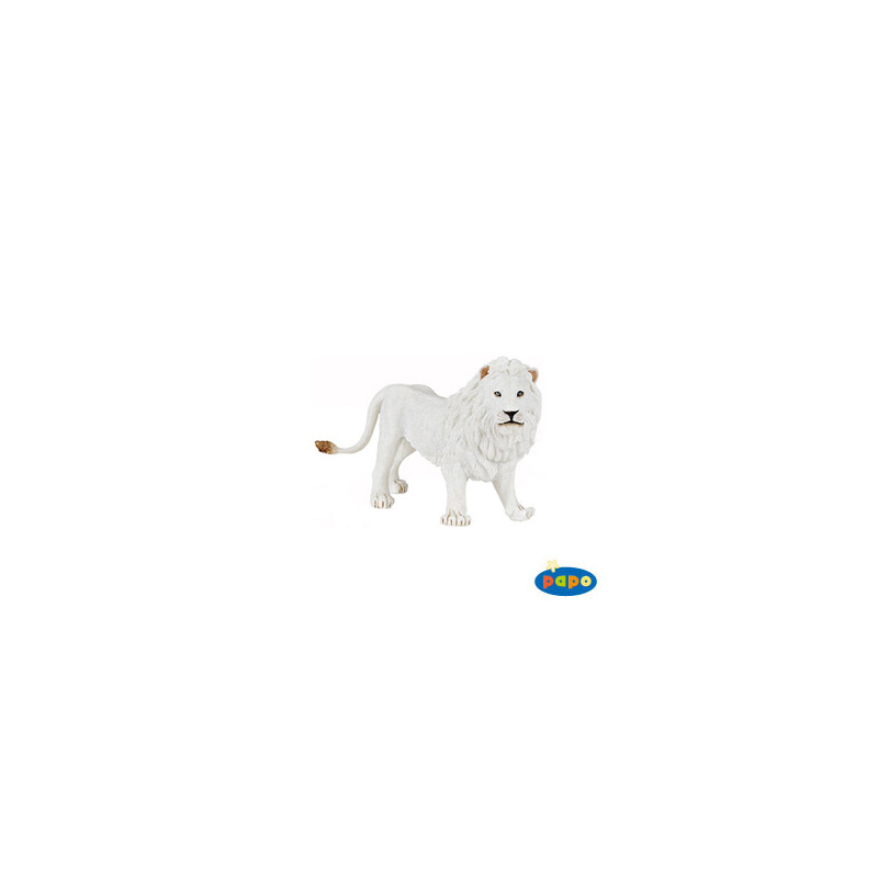 Papo 50074 Witte leeuw