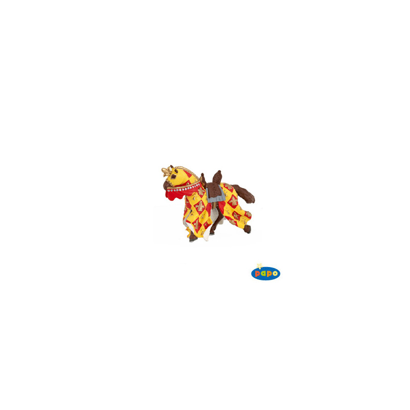 Papo 39754 Crossbowman red horse