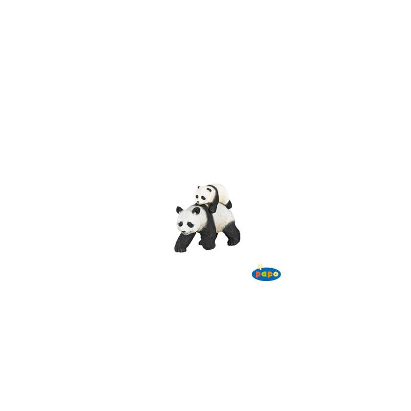 Papo 50071 Panda and baby panda