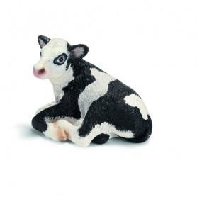 Schleich 13639 Holstein kalf liggend