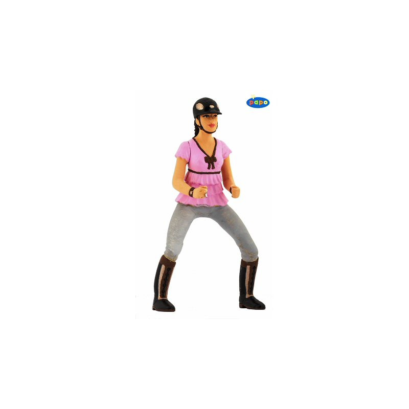 Papo 52006 Trendy riding girl