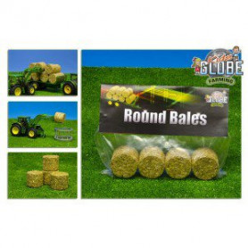 Round bales set 4-pcs.