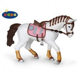 Papo 51525 Pferd mit geflochtenen Zöpfen