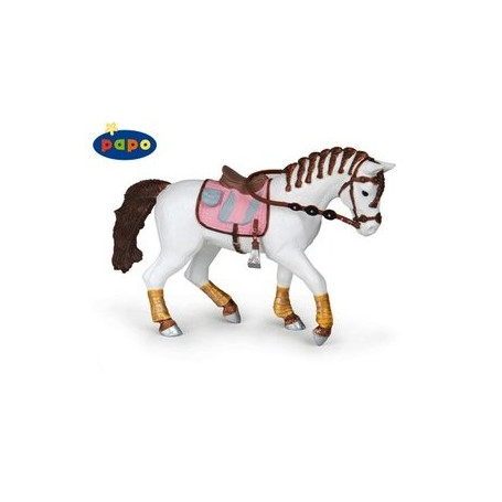 Papo 51525 Braided mane horse