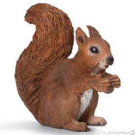 Schleich 14684 Eichhörnchen, fressend