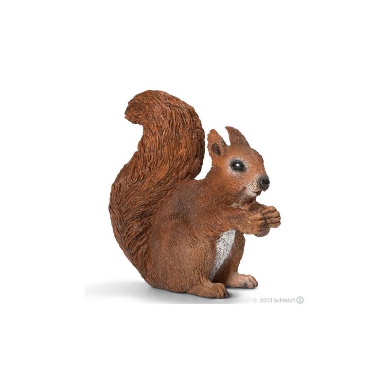 Schleich 14684 Squirrel, eating
