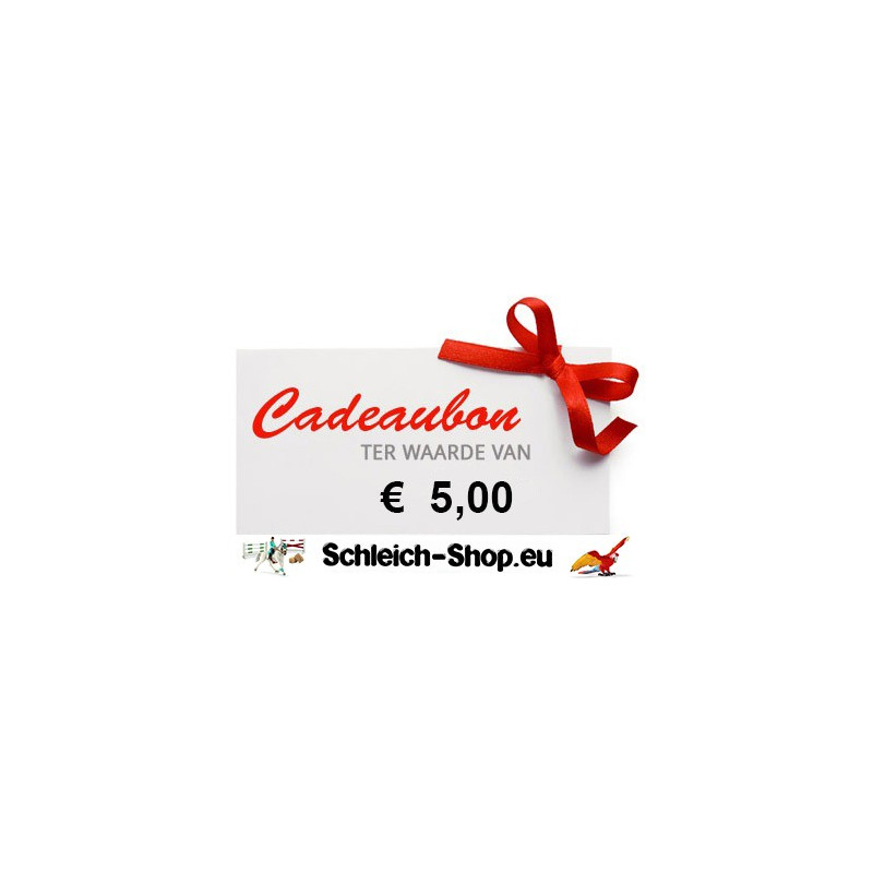 Schleich Kadobon € 5,00