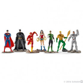Schleich 22528 The Justice League Figuren set