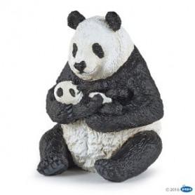 Papo 50196 Sitting panda and baby