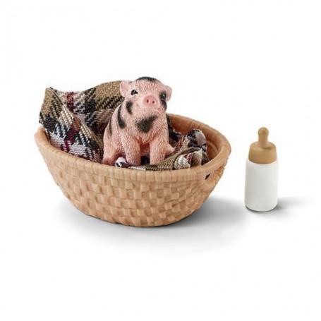 Schleich 42294 Mini-pig with bottle