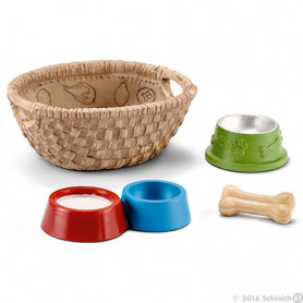 Schleich 42293 Nourriture pour chiens et chats