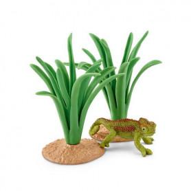 Schleich 42324 Chameleon in reeds