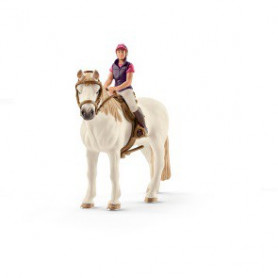 Schleich 42359 Recreational rider with horse