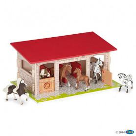 Papo 60104 Box à chevaux