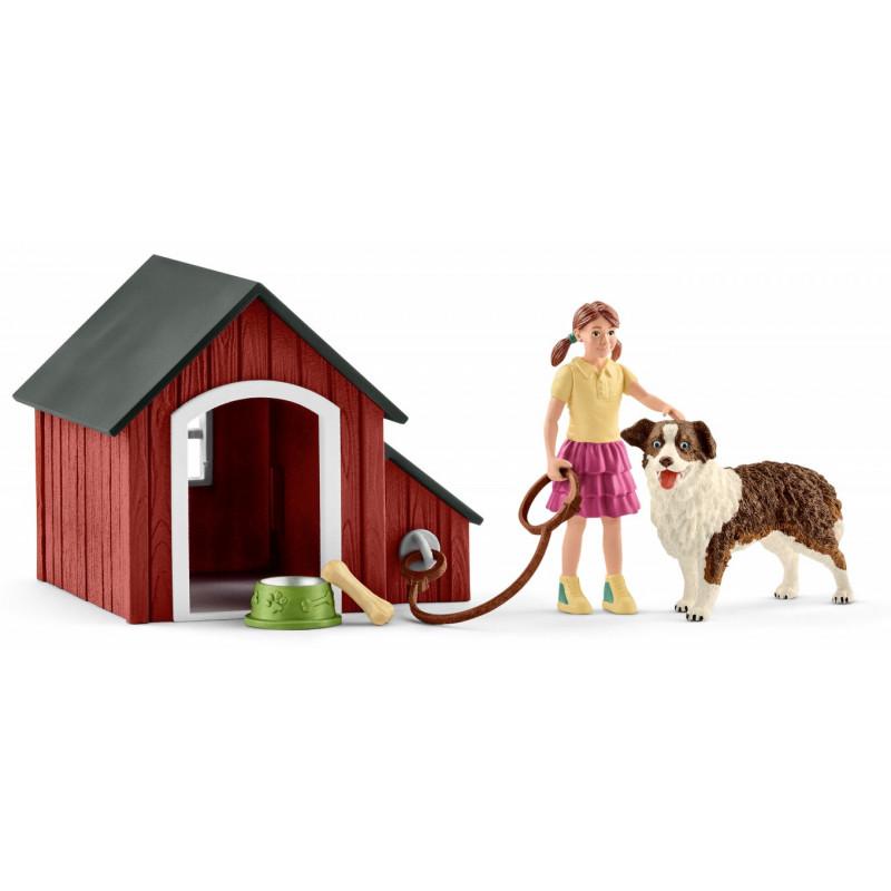 Schleich 42376 Hondenhok