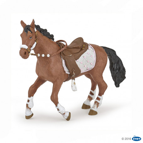 Papo 51553 Winter riding girl horse
