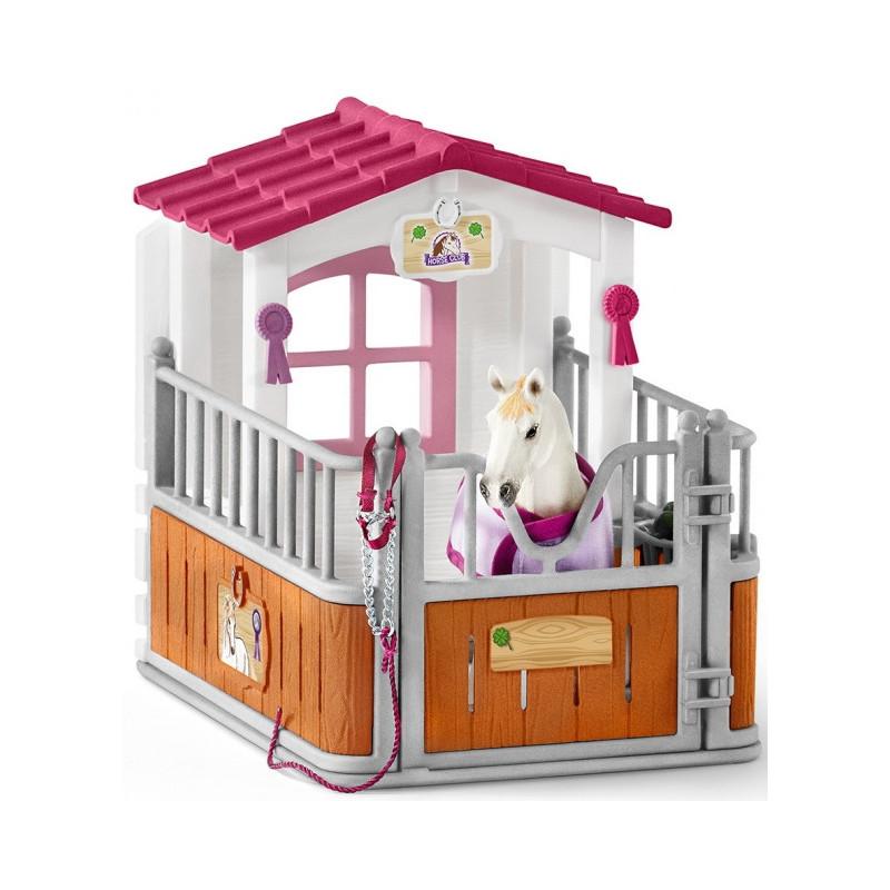 Schleich 42368 Paardenbox met Lustiano Merrie