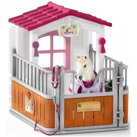 Schleich 42368 Horse Stall with Luistana Mare