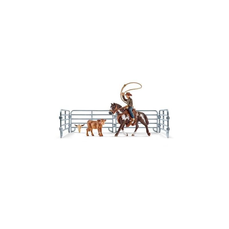Schleich 41418 Lassovangst met cowboy