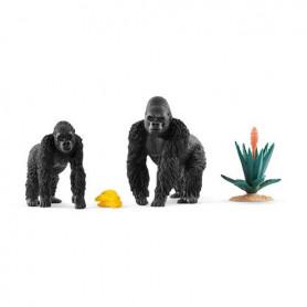 Schleich 42382 Gorillas Foraging