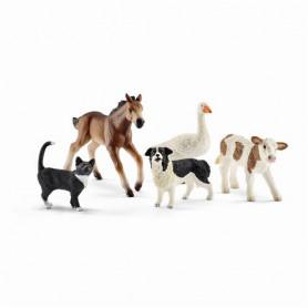 Schleich 42386 Assortiment d'animaux Farm World