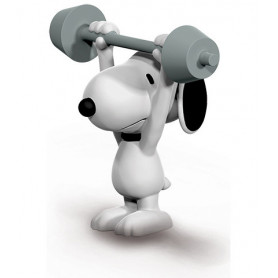 Schleich 22075 Snoopy haltérophile