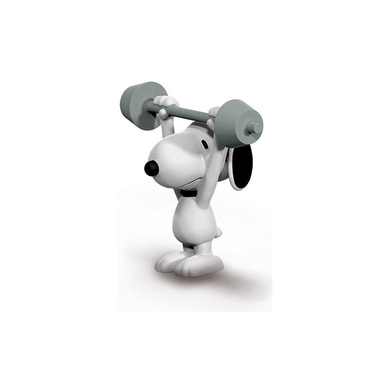 Schleich 22075  Weightlifter Snoopy
