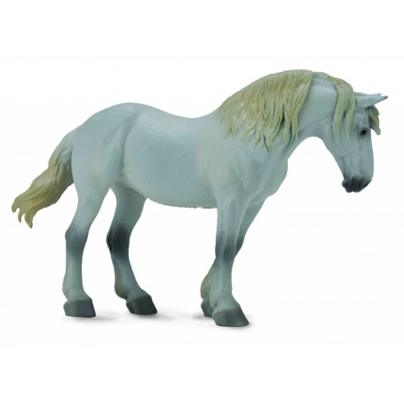 Collecta 88702 Percheron merrie grijs
