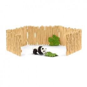 Schleich 42429 Enclos à pandas