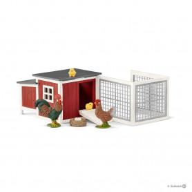 Schleich 42421 Chicken coop