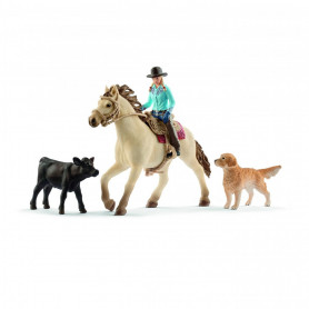 Schleich 42419 Western riding