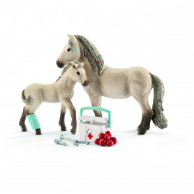 Schleich 42430 Kit de secoures & chevaux islandais