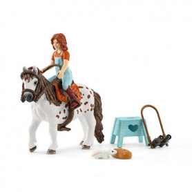 Schleich 42435 Mia & Spotty (Sister with Shetland)
