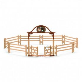 Schleich 42434 Manege pour chevaux avec portail