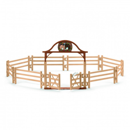 Schleich 42434 Paddocks with entry gate