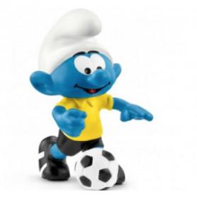 Schleich 20806 Schtroumpf footballeur avec ballon