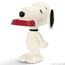 Schleich 22002 Snoopy met Bak
