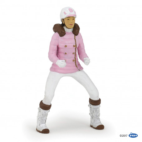 Papo 52011 Winter Riding Girl