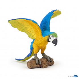 Papo 50235 Blauw gele ara