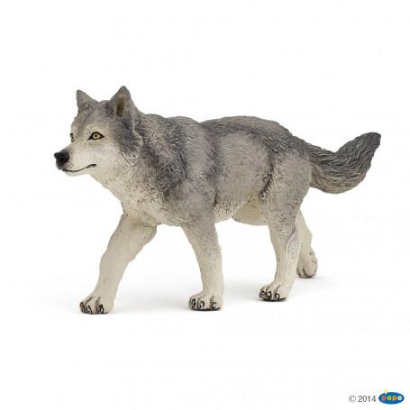 Papo 53012 Grijze wolf