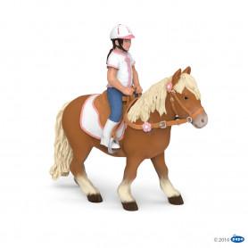 Papo 51559 Shetland pony with saddle ( without Rider )