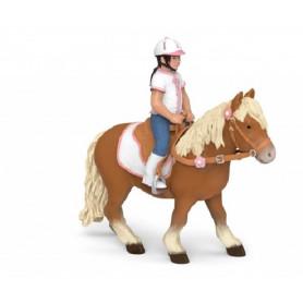 Papo 52014 Rijdend meisje ( zonder paard )