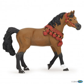 Papo 51547 Cheval arabe en tenue de parade