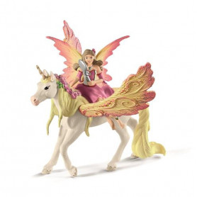 Schleich 70568 Fairy Feya with Pegasus unicorn